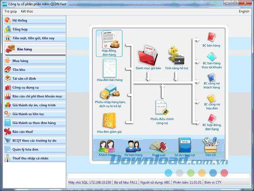 Phần mềm kế toán Fast Accounting